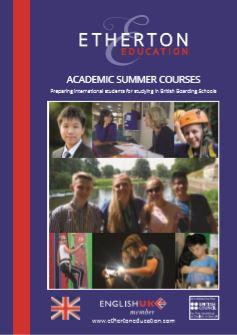 Etherton Education's latest brochure