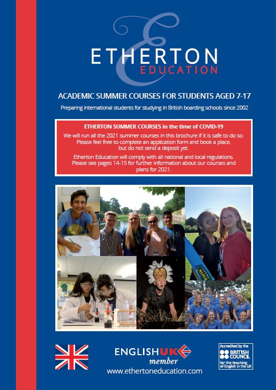 Etherton Education's latest brochure